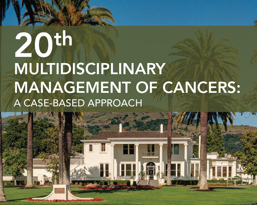 20th Multidisciplinary Management of Cancers Save the Date Card